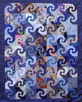 Quilt Snail Trail Pattern My Quilt Pattern